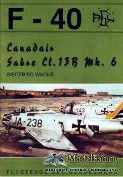 F-40 «Flugzeuge Der Bundeswehr» Nr.17 (06.1992) - Canadair Sabre CL.13B Mk. ...