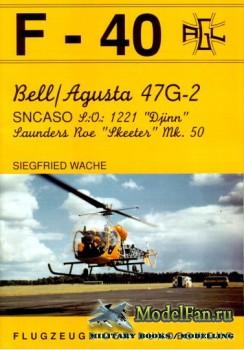 F-40 «Flugzeuge Der Bundeswehr» Nr.18 (11.1992) - Bell/Agusta 47G-2