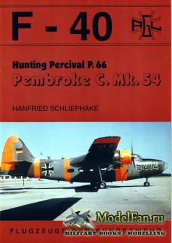 F-40 «Flugzeuge Der Bundeswehr» Nr.19 (02.1993) - Hunting Percival P.66 Pem ...