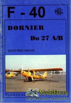 F-40 «Flugzeuge Der Bundeswehr» Nr.21 (02.1994) - Dornier Do 27 A-B