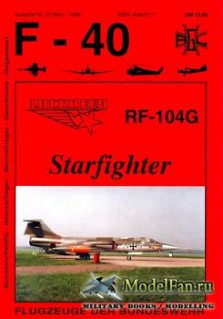 F-40 «Flugzeuge Der Bundeswehr» Nr.25 (03.1996) - Lockheed RF-104G Starfigh ...