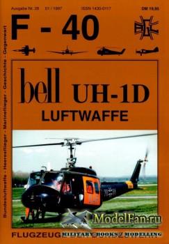 F-40 «Flugzeuge Der Bundeswehr» Nr.28 (01.1997) - Bell UH-1D Luftwaffe