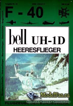 F-40 «Flugzeuge Der Bundeswehr» Nr.33 (03.1998) - Bell UH-1D Heeresflieger