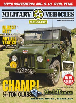 Military Vehicles Magazine October 2019
