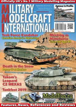 Military Modelcraft International (September 2019) Vol.23 №11