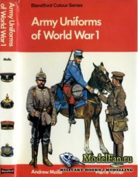 Blandford Press - Army Uniforms of World War 1