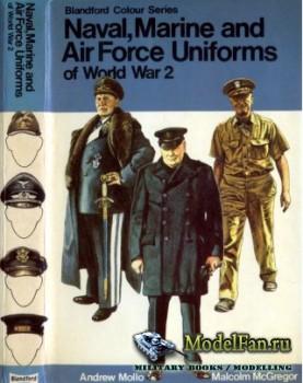 Blandford Press - Naval, Marine and Air Force Uniforms of World War 2