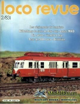Loco-Revue №446 (February 1983)