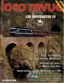 Loco-Revue №447 (March 1983)
