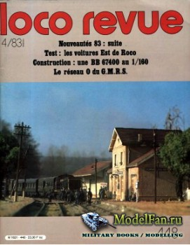 Loco-Revue №448 (April 1983)