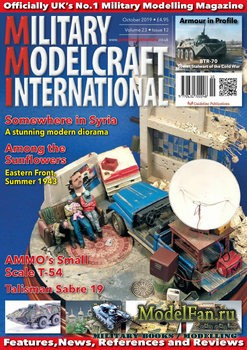 Military Modelcraft International (October 2019) Vol.23 №12