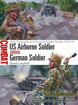 Osprey - Combat 33 - US Airborne Soldier vs German Soldier