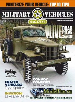 Military Vehicles Magazine December 2019
