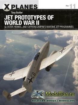 Osprey - X-Planes 11 - Jet Prototypes of World War II