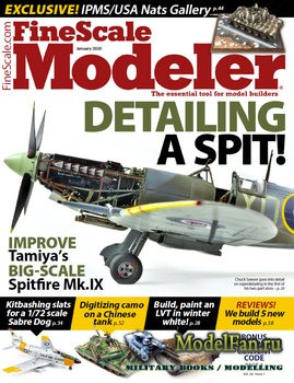 FineScale Modeler Vol.38 №1 (January 2020)