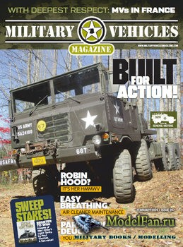 Military Vehicles Magazine February 2020
