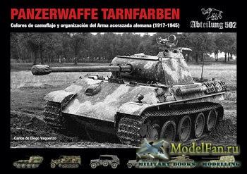 Panzerwaffe Tarnfarben: Colores de Camuflaje y Organizacion del Arma Acoraz ...