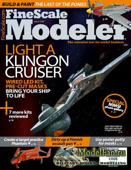 FineScale Modeler Vol.38 №3 (March 2020)