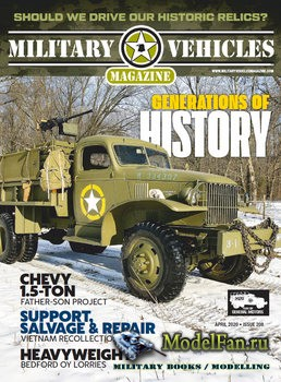 Military Vehicles Magazine April 2020
