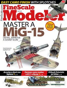 FineScale Modeler Vol.38 №3 (April 2020)