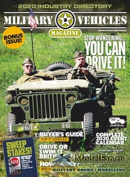 Military Vehicles Magazine Spring 2020