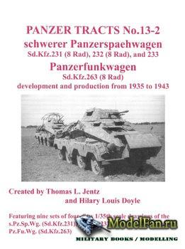 Panzer Tracts No.13-2 - Schwerer Panzerspaehwagen and Panzerfunkwagen