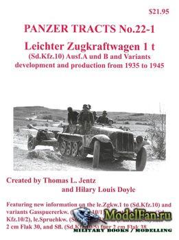 Panzer Tracts No.22-1 - Leichter Zugkraftwagen 1 t