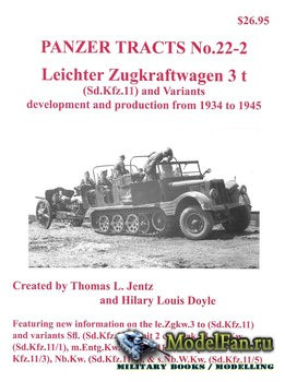 Panzer Tracts No.22-2 - Leichter Zugkraftwagen 3 t