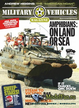 Military Vehicles Magazine June 2020