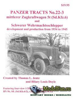 Panzer Tracts No.22-3 - Mittlerer Zugkraftwagen 5 t and Schwerer Wehrmachts ...