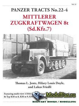 Panzer Tracts No.22-4 - Mittlerer Zugkraftwagen 8t (Sd.Kfz.7)