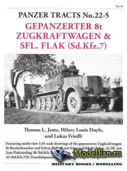 Panzer Tracts No.22-5 - Gepanzerter 8t Zugkraftwagen & SFL. Flak