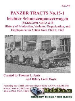 Panzer Tracts No.15-1 - Leichter Schuetzenpanzerwagen