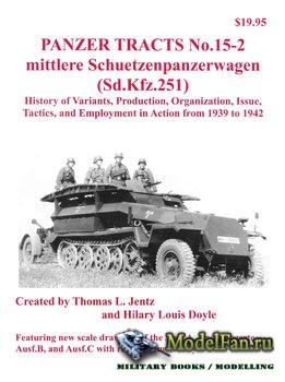 Panzer Tracts No.15-2 - Mittlere Schuetzenpanzerwagen (Sd.kfz.251)