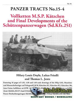 Panzer Tracts No.15-4 - Vollketten M.S.P. Katchen