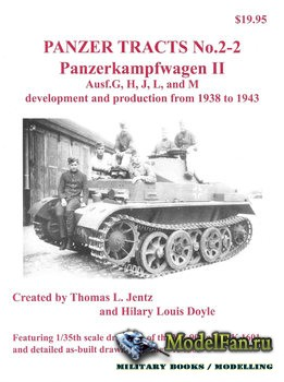 Panzer Tracts No.2-2 - Panzerkampfwagen II Ausf.G, H, J, L, and M