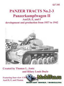 Panzer Tracts No.2-3 - Panzerkampfwagen II Ausf.D, E, and F