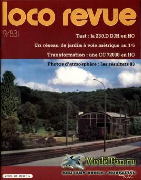 Loco-Revue №452 (September 1983)