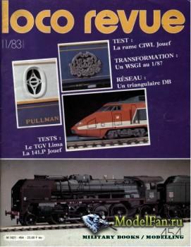 Loco-Revue №454 (November 1983)