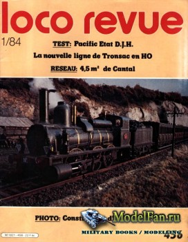 Loco-Revue №456 (January 1984)