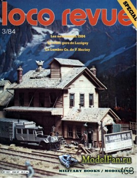 Loco-Revue №458 (March 1984)