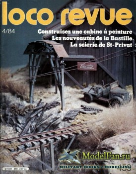 Loco-Revue №459 (April 1984)