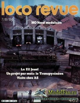 Loco-Revue №462 (July-August 1984)