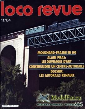 Loco-Revue №465 (November 1984)