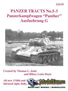 Panzer Tracts No.5-3 - Panzerkampfwagen