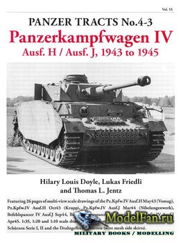Panzer Tracts No.4-3 - Panzerkampfwagen IV Ausf.H / Ausf.J