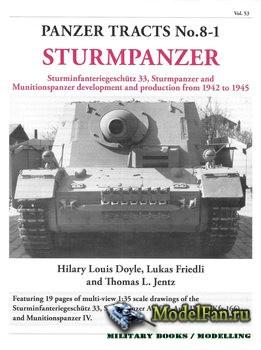 Panzer Tracts No.8-1 - Sturmpanzer
