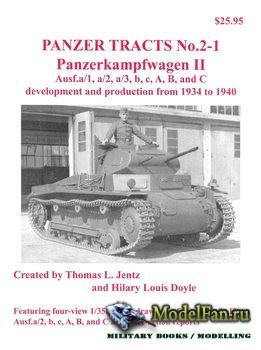 Panzer Tracts No.2-1 - Panzerkampfwagen II