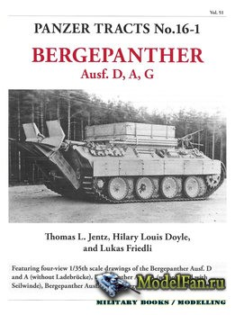 Panzer Tracts No.16-1 - Bergepanther Ausf. D, A, G
