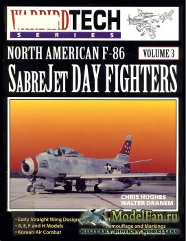 Warbird Tech Vol.3 - North American F-86 SabreJet Day Fighters